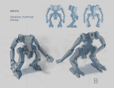 Mech Design by Deltafreelancer