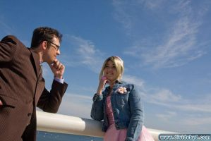 Doctor and Rose - Cosplay by aimeekitty