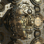 return of head-heightmap - Mandelbulb3D with Paras by matze2001