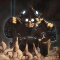 Speed Painting 4 - Temple Spirit by ARCallejas