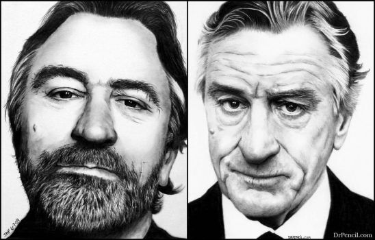 Robert De Niro - PROGRESS by Doctor-Pencil