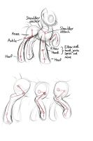 Tutorial: pony legs and joints by viwrastupr