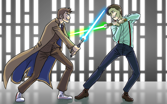 May the Timey-Wimey be with you by medli20