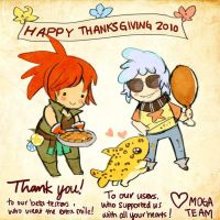 Happy Thanksgiving by monstergalaxy