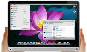 Mac OS X Lion 64-Bit Theme by MrWhiteEye