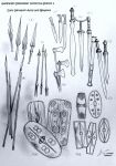 Weapons and Arms of Ancient Germanic Warriors by Gambargin