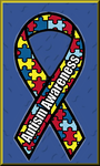Autistic Awareness Ribbon II by Obsidian-Siren