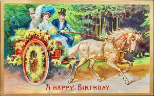A Happy Birthday Carriage Ride by Yesterdays-Paper