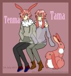 Tenma and Tama by ShirouYumekawa