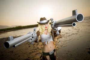 cowgirl Miss Fortune by TENinania