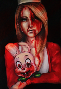 Sweet tears Silent Hill by ellieshep