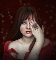 Shades of Red by PaperDreamerArt