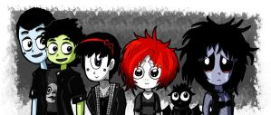 Ruby and the Banshees~?! by Jeremy-Mendoza
