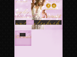 Free design with Elsa Hosk by terushdesigns