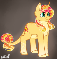 Sunset Shimmer by Cloud-Drawings