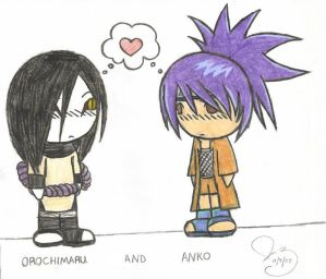 anko and orochimaru relationship problems