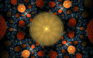 pattern with round swirls by Andrea1981G