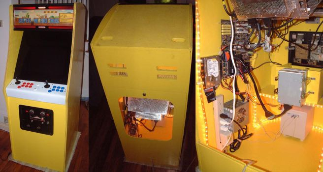 PacMan Cabinet Restored by noenflux