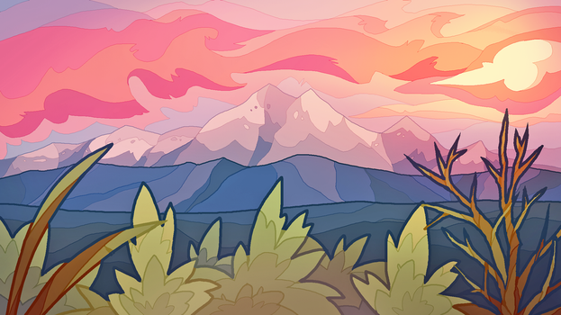 mountains by snaphound