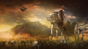 Rogue One : Scarif's Attack by Aste17