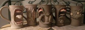 Some new mugs drying by thebigduluth