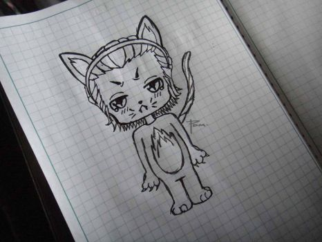 Loki as Lokitty by costaku-chan