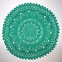 #15 Perfect Pineapple Doily by Thy-Darkest-Hour