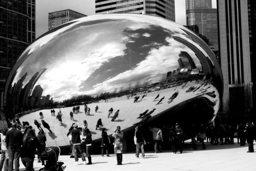 The Chicago Bean by Photizo