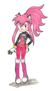 .:Shady's Sonic Riders Outfit:. by Shadystar95