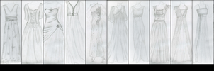 my dresses I by Grecian888