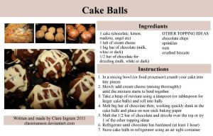 Cake Ball Tutorial by claremanson