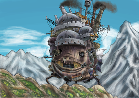 Howl's Moving Castle by Arabesque91