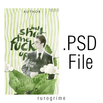 Just Shut The Fuck Up - .PSD File by rurogrime