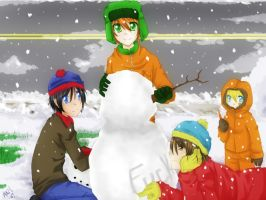 South Park: Snowman by SlothGirl