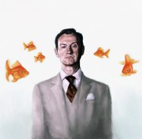 Mycroft Holmes - I'm living in a world of goldfish by ImperfectSoul