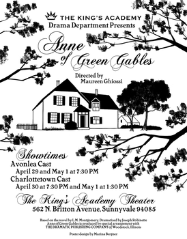 Anne of Green Gables poster by Tryphe