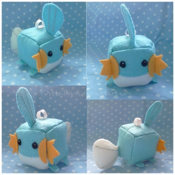 Mudkip Cube by oi-m