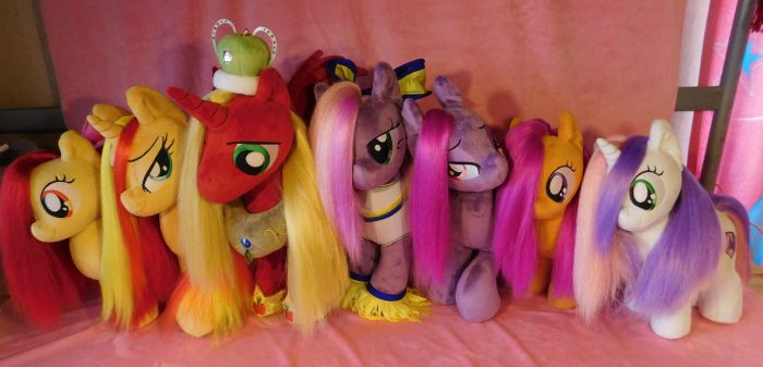 New plushies for sale by Zooher-Punkcloud