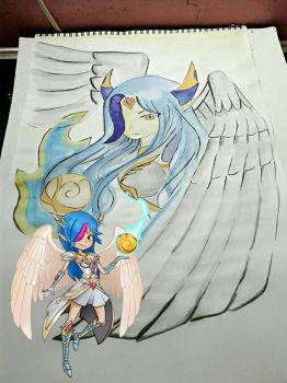 everwing character [Lily-Guardian of Alchemy] by HEikeHAisE