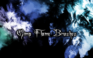 Gimp Animated Flame Brushes by PigMasterOra