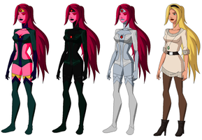 YJ- Lady Aether S2 Redesign by GothamTaco