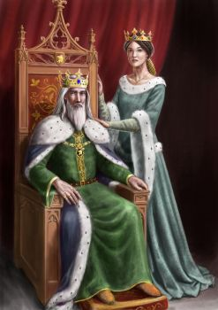 King and Queen by dashinvaine