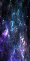 Cold Nebula RAINBOW STARS [Custom Box Background] by darkdissolution