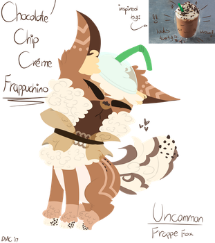 Chocolate Chip Creme Frappucino (Frappe Fox MYO) by TheDMCArts