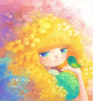 Spring Is Coming by minayuyu