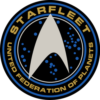 Starfleet Patch From ST Into Darkness and Beyond by viperaviator