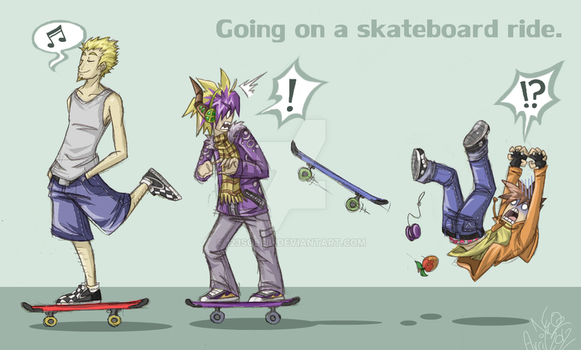 CBNS: Going On a Skateboard Ride by 123soleil