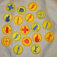 Bunches Of TF2 Patches by NeitherSparky