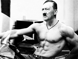 Lost photo of Hitler by fidothedog