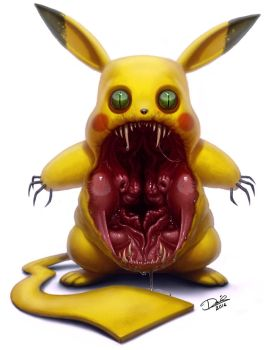 Pikachu by Disse86